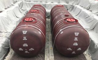 Underground fuel storage tanks and underground petroleum storage systems